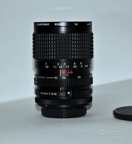 Canon FD, Tokina ATX 28-85 macro, no leica