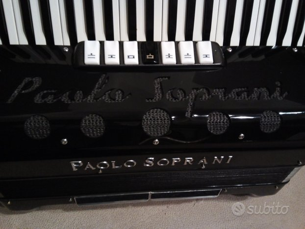 Fisarmonica 120 bassi PAOLO SOPRANI AMPLIFICATA