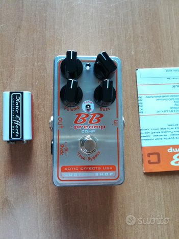 Xotic BB preamp Comp Custom Shop - Overdrive OD