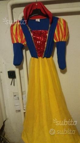 Vestito di carnevale Biancaneve bim da 6 a 8 anni