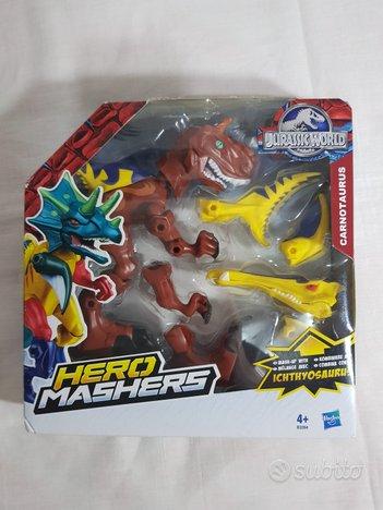 Jurassic hero mashers carnotaurus