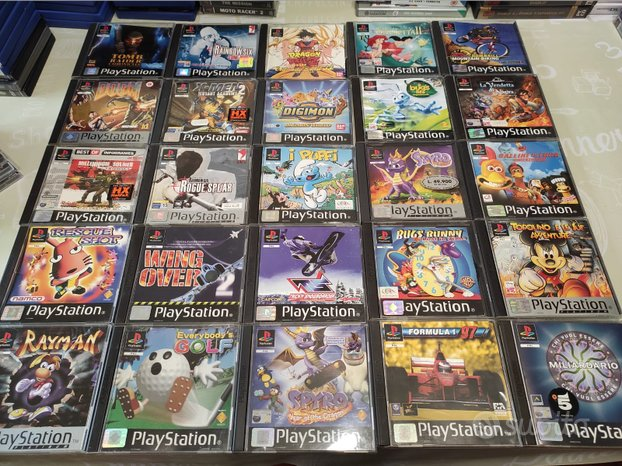 Giochi Playstation 1 PS1 Compatibili PS2 PS3