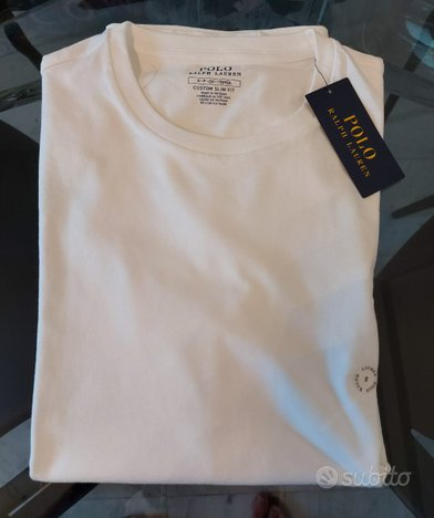 Polo Ralph Lauren T-Shirt S CSF Originale Nuova