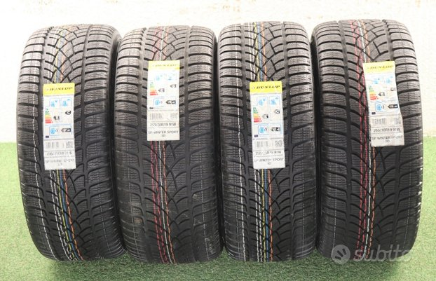 Gomme Dunlop 19 Audi RS3 235 - 255 NUOVO invernali