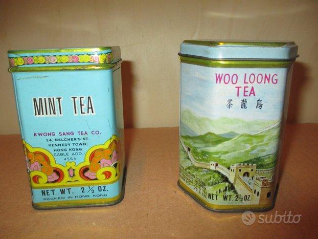 Lattine Thè Cinese Vintage