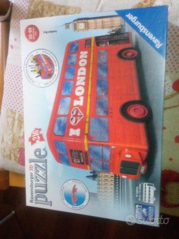 RAVENSBURGER puzzle 3 d 216 pezzi bus londinese