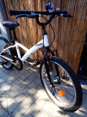 Bici '20 per bimbo/bimba e seggiolino portabimbo