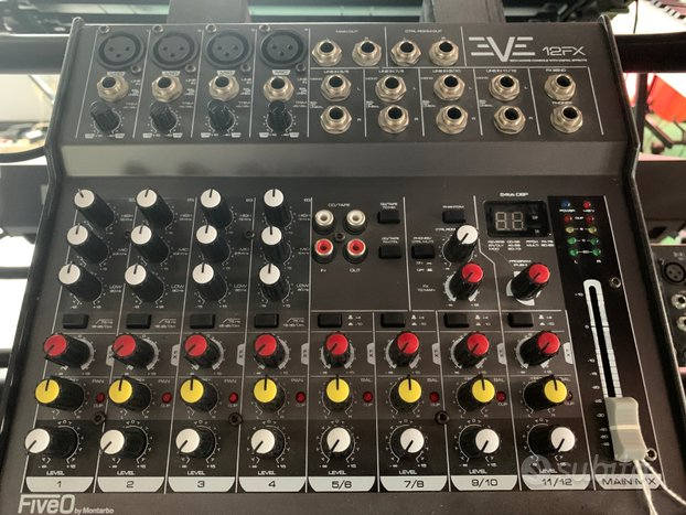 Mixer Montarbo Nuovo 12 canali