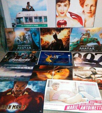 5.000 MANIFESTI CINEMA 70x100 movie poster film