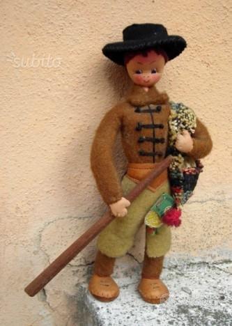 Bambola souvenir Portogallo anni 50