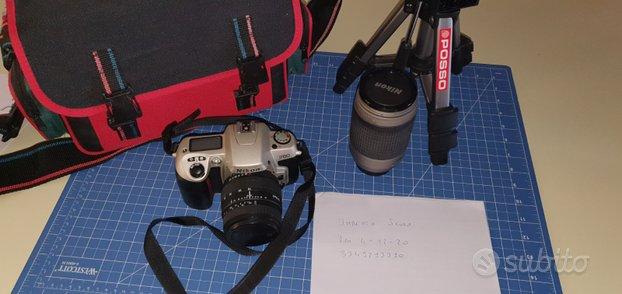 Nikon F60 nuova + nikon 70 300 + sigma 28 70