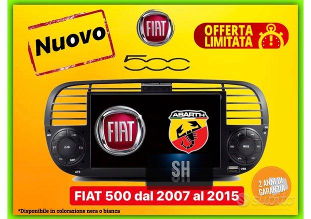 [ NUOVO ] Autoradio android Fiat 500 dal 2007-2015