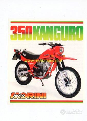 MOTO MORINI Kanguro 350 1 serie depliant originale