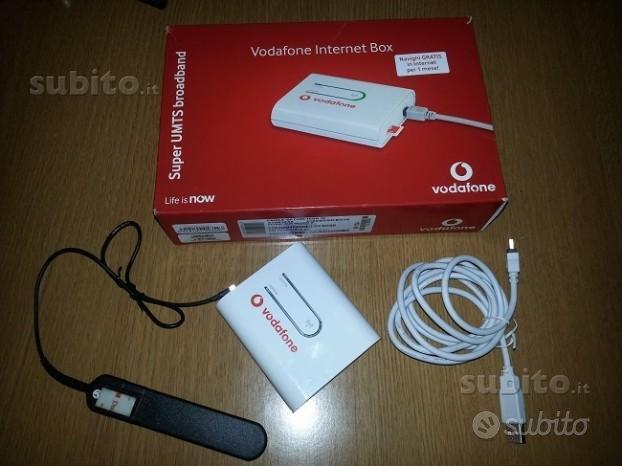 Internet box Vodafone per navigare a 2 mega