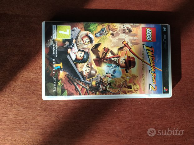 Videogioco PlayStation portable PSP indiana Jones