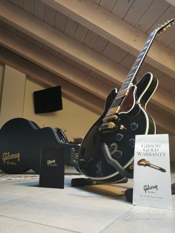 Gibson 355 Lucille bb king signature custom shop
