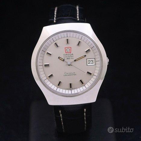 Omega Electronic Geneve Chronometer F300HZ