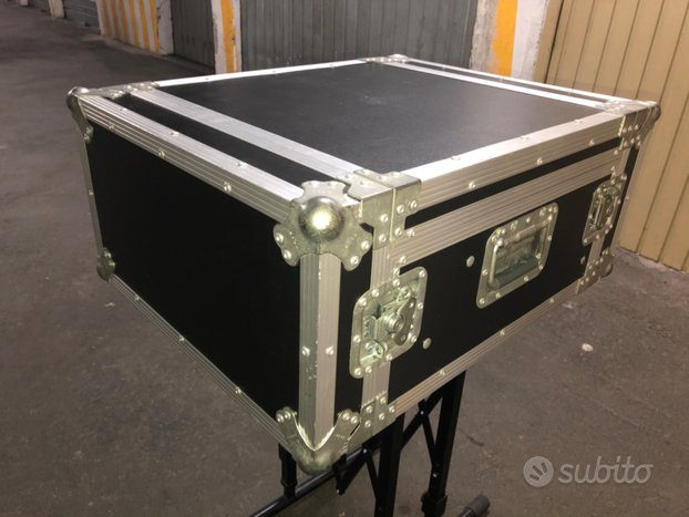 Rack Flight-Case PROEL 4U+ porta mixer inclinabile