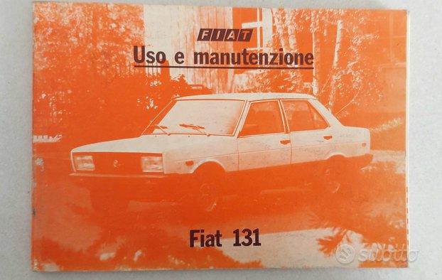 Libretto uso e manutenzione Fiat 131