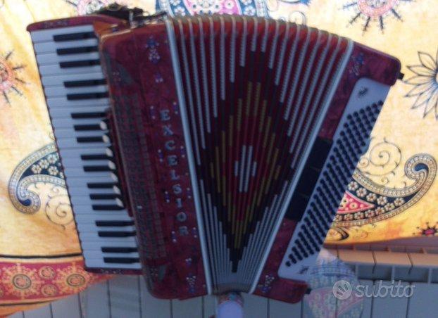 Fisarmonica Excelsior 120b. 3/5