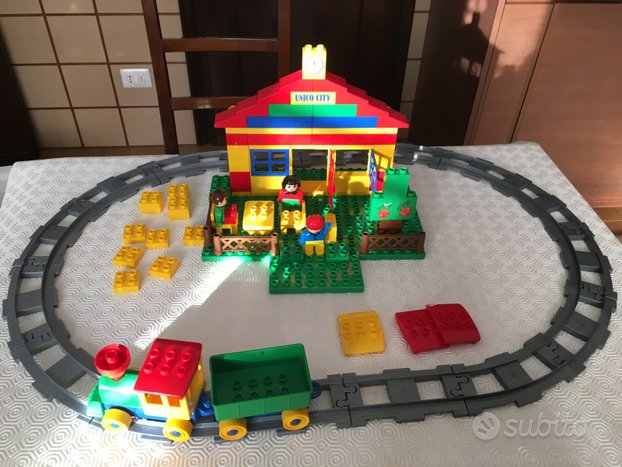 Unico City LEGO treno