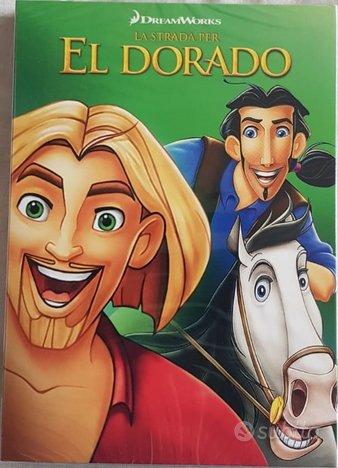 La strada per El Dorado (DreamWorks) Blu-Ray e DVD