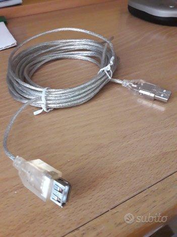 Prolunga USB mt 5 doppio entrata
