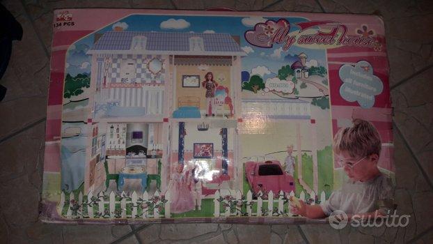 Casa bambole tipo Barby Barbie Bambina