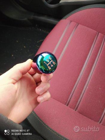 Pomello auto iridescente universale 5 marce