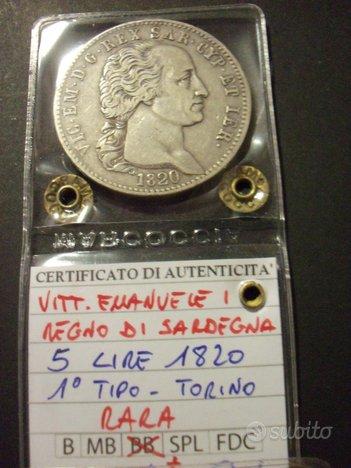 Stati preunitari-scudi argento dei savoia e papali