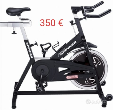 Cyclette e spin bike professionali