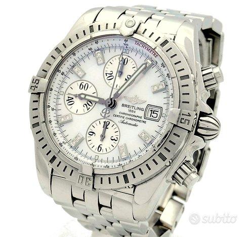 Breitling Chronomat Evolution Diamonds MOP Dial
