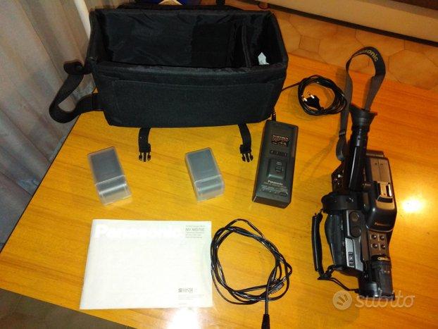 Telecamera videocamera panasonic a cassette analog