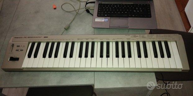 Tastiera midi ROLAND PC 300 USB