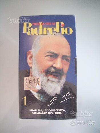 Video Cassetta VHS Film Tutta la vita di Padre Pio