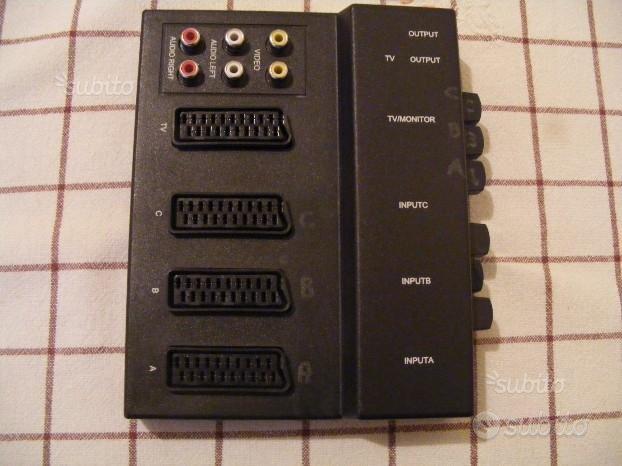 HAMA Commutatore Audio/Video