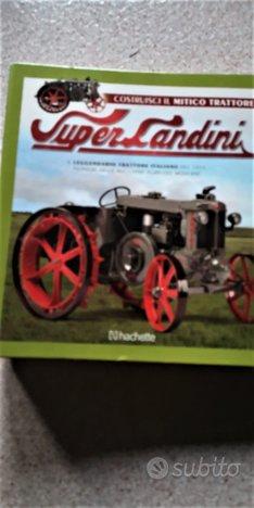 Fasc. HACHETTE,raccoglitore,trattore Super Landini