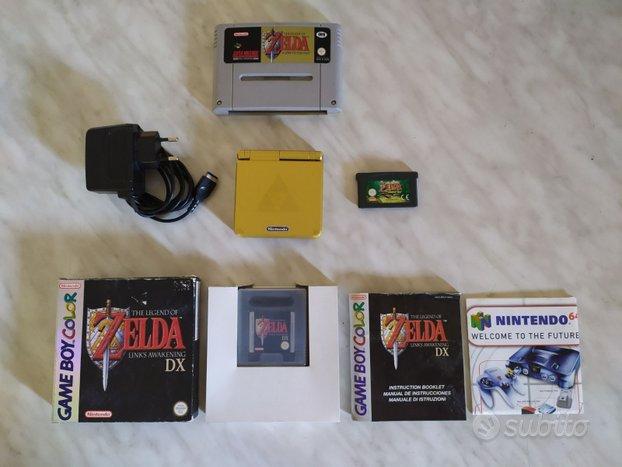 Zelda GBA minish cap snes gameboy color ORIGINALI