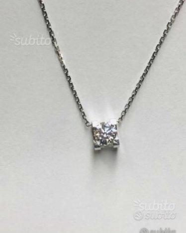 Girocollo punto luce Cartier diamante naturale