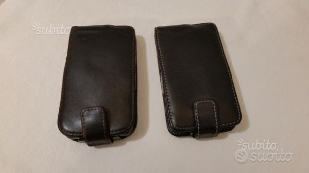 5 Custodie vera pelle cellulare e smartphone