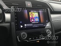 Autoradio navigatore honda civic dal 2016 android