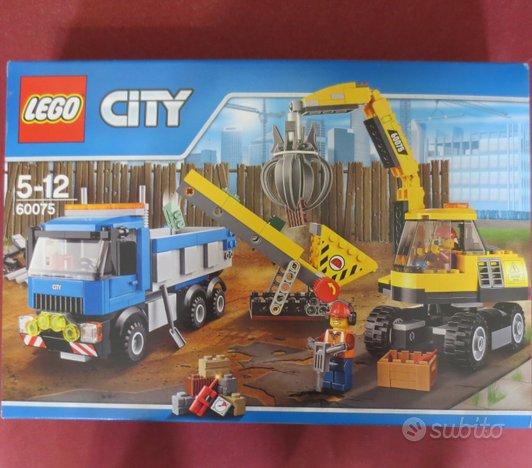Lego city 60075 escavatore camion completo 100%