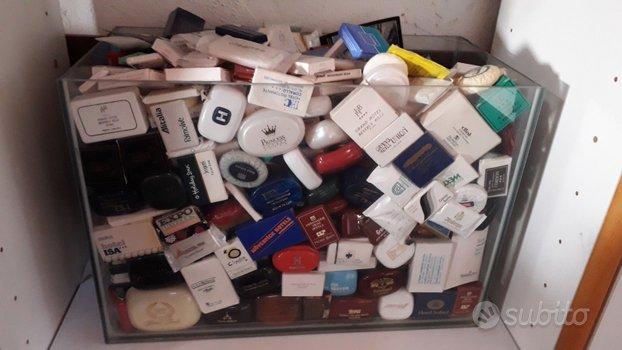 Collezione di saponette mignon di Hotel