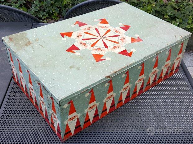 Scatola Latta Biscotti Natale.Rarissima Scatola Latta Natale Motta Vintage Collezionismo In Vendita A Torino Torino