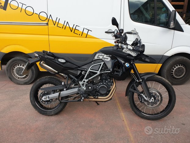 BMW F 800 GS Tiple Black