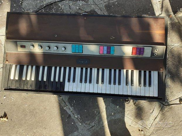 Pianola Galanti eletronics vintage epoca