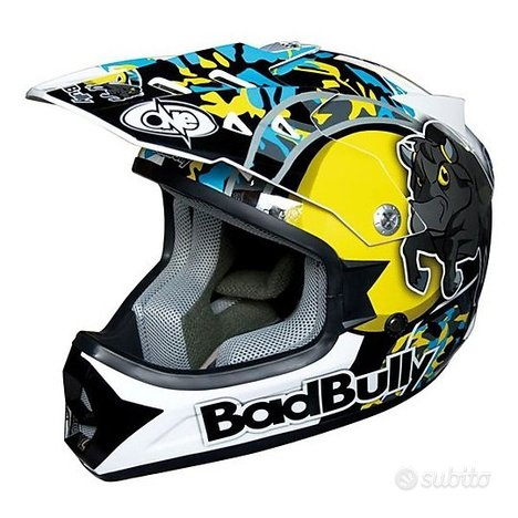 Casco Bimbo Cross-Enduro Bad Bully Red/Blue