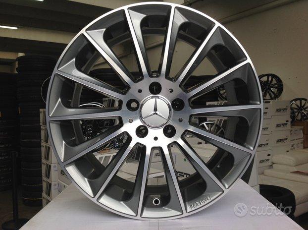 Cerchi Mercedes raggio 17 antracite cod.398330