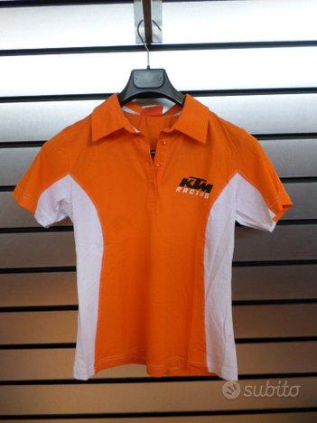 T-shirt Team Polo KTM donna
