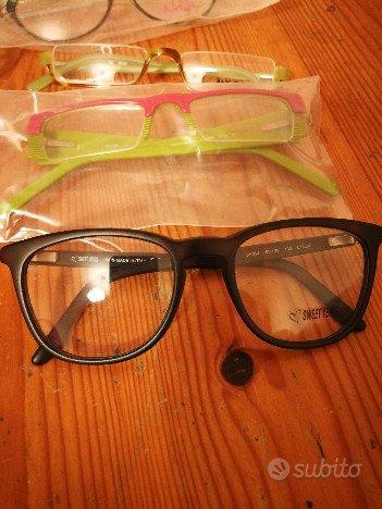 Stock di 47pz paia di montature occhiali da vista